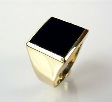 echtschmuck ringe mit onyx ebay. Black Bedroom Furniture Sets. Home Design Ideas