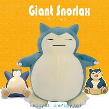 """Huge 59"""" Pokemon Snorlax Plush Toy Doll Pillow Bed ~ONLY COVER WITH ZIPPER ~"""