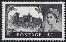 1967 £1 Black Castles High Value SG762 No Watermark Unmounted Mint