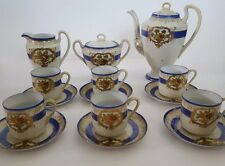 Vintage Mikado Delicate Hand Painted Complete Tea Set Genuine China 17 Piece
