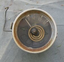 VW Type 34 Karmann Ghia Razor VDO Fuel Gauge & Indicator Lights 1966 Used