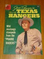 JACE PEARSON'S TALES OF THE TEXAS RANGERS #17 G+ (2.5) 1957 DELL WESTERN COMIC D