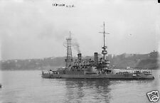 "US Navy USS Indiana World War 1 6x4"", Reprint Photo a"