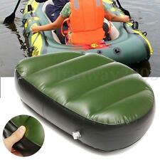 Inflatable Cushion Boat Raft Dinghy Kayak Rowing Swimming Pool Lake Water Float