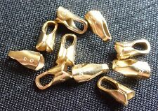 14/20 Gold filled end caps end tubes jewellery findings jewelry supplies craft