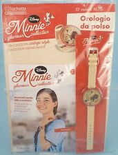 orologio MINNIE Glamour Collection #33 vintage style Disney Hachette - nuovo