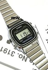 Casio LA670WA-1D LA670WA Ladies Vintage Retro Digital Women's Mini Face Watch