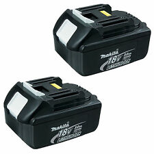 MAKITA 18V LXT LITHIUM ION BL1830 BATTERIES 3.0AH - GENUINE 2 PACK STAR MARKED