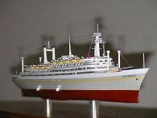 ss ROTTERDAM 1959 Holland America Line Ocean Liner Cruise Ship Detailed Model