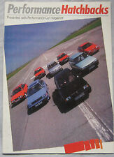 Performance Car magazine supplement featuring Ford, Lancia, MG, Volkswagen, Colt
