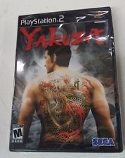 Yakuza 1 (Sony PlayStation 2, 2006 RE-PRINT) NEW FREE SHIPPING IN USA & CANADA