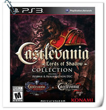 2 IN 1 PS3 Castlevania Lords of Shadow Collection PlayStation Action Game Konami