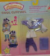 Vintage 80's Tonka 1988 Designer Hollywoods Cool Doll Clothes - Night Glitter