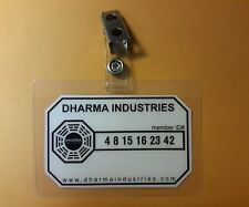Lost TV Series ID Badge - Dharma Industries cosplay prop costume