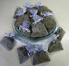 Set of 30 Lavender Sachets made with Lavender Organza Bags