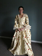 Marie Antoinette dress gown DAR costume colonial made to measurementXLG