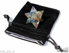 7 Chakra Orgone Merkaba Star - Crystals with Orgone Energy!