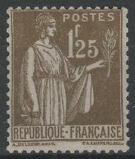 """FRANCE STAMP TIMBRE N° 287 """" TYPE PAIX 1F25 OLIVE """" NEUF xx TTB  N436"""