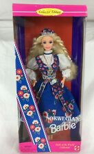 NIB Stunning Dolls Of The World Norwegian Barbie Doll 14450