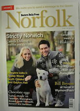 Eastern Daily Press Norfolk Magazine. Issue 156. April 2012. Strictly Norwich.