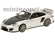 MINICHAMPS 100-069400 2011 PORSCHE 911 997 GT2 RS 1/18 WHITE with SILVER WHEELS