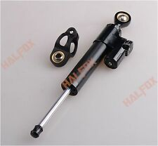 Black Steering Damper Stabilizer For DUCATI MOSTER 1199 1098 848 999 749