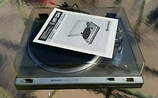 Vintage HITACHI HT-324 Belt Drive  Turntable with Org Manual Exct