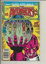 AVENGERS ANNUAL #17 NM WHITE PAGES COPPER AGE COMIC 1988 MARVEL COMICS
