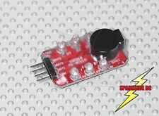 2s - 3s 7.4v - 11.1v On-Board Lipo Low Voltage Alarm Buzzer Checker  UK Seller