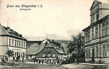 Klingenthal i. Sachsen / Grenze zu Graslitz, Reichsgrenze, 1909