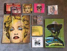 8 x RARE CD COVERS,PAUL INSECT,MR BRAINWASH,BANKSY,OBEY,DFACE,DAMIEN HIRST,EINE