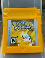 Pokemon Special Pikachu Edition Yellow Gameboy Color Cartridge