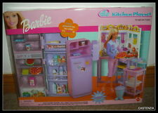 NRFB MATTEL BARBIE DOLL 2000 BARBIE ALL AROUND HOME KITCHEN PLAYSET NRFB