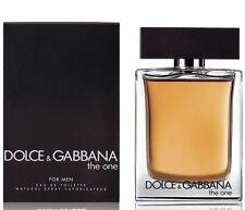 D&G DOLCE E GABBANA THE ONE FOR MEN EDT NATURAL SPRAY VAPO - 50 ml