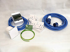 240V Mains Electric Hook Up Installation Kit T2/T4/T5 Camper van + 10M Site Lead