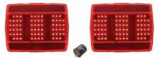 NEW! 1964-1966 Mustang LED Tail Lights PAIR Both left & right side Sequential
