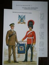 POSTCARD THE ROYAL SCOTS DRAGOON GUARDS LIEUTENANT & TRUMPETER - 5 BRITSH ARMY S