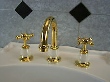 Manor House Dorf  Gold-ivory. Basin set. Excellent quality, brand new.