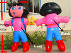 40cm Dora Inflatable Decoration Blow up Pool Toy Kids Girl Party wholesale