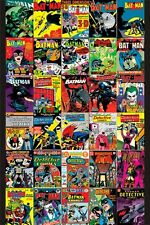 BATMAN ART POSTER ~ 30 COVERS 24x36 DC Comic Book Joker #1 Bob Kane Jim Lee