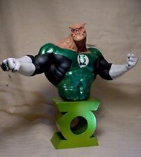 "RARE Green Lantern KILOWOG 10 1/2"" BUST w PROFESSIONAL PAINT"
