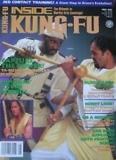 5/95 INSIDE KUNG  KILINDI LYI  KEVEN SORBO BLACK BELT KARATE MARTIAL ARTS