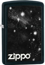 Zippo Galaxy Black Matte Windproof Lighter 28433 New
