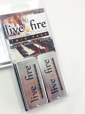 Live Fire Gear Emergency Survival Fire Starter Camping 1oz Twin Pack #32643