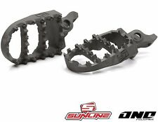 SUNLINE SL1 / ONE INDUSTRIES ARCH STAINLESS FOOTPEGS to fit HONDA CRF 150 07-16