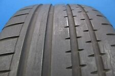 One Used Continental Sport Contact 2   255 35 19  8-9/32 Tread Repair Free E1525