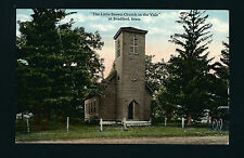 Bradford Iowa IA c1910 Little Brown Church in the Vale, May Drug Charles City  C