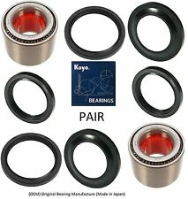 Rear KOYO Wheel Hub Bearings & Seals For SUBARU Impreza 1993-2007 (PAIR)