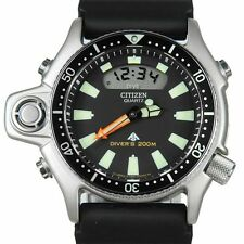 CITIZEN PROMASTER AQUALAND DIVER WATCH JP-2000-08E JAPAN