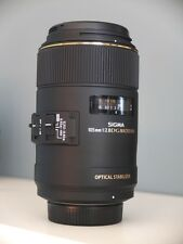 Near Mint!! Sigma 105mm f/2.8 EX DG MACRO OS HSM for Sony/Minolta